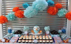 Love this owl theme: Giggle and a Hoot. How cute is this?