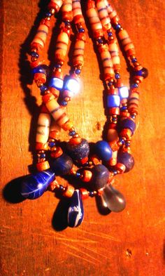Its a necklace and also a journey...     Before there was money, there were beads ...     Ghana, the country where beads speak ...      Si...