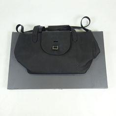 Kendall Jenner Meli Melo Black Leather Shoulder Strap Purse NEW WITH BOX #MeliMelo #ShoulderBag
