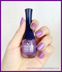 Manicure de la semana #5 Vogue Nails, Nail Blog, Tips Belleza, Nail Polish, Make Up, Nail Art, Avon, Beauty, Nailed It