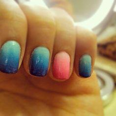 ombre' nails are fantastic