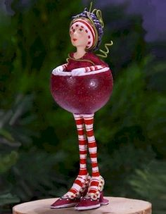Krinkles Mini Ornaments by Patience Brewster at Fiddlesticks