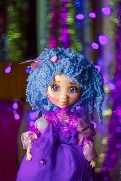 Purple Blythe doll OOAK art doll Blythe doll custom Blythe Doll with big eyes Art doll fairy decor Fairy art doll Spring doll #blythe #blythedoll #bigeye #bigeyedoll #ooakdoll #customdoll #fairydoll #artdoll #blythecustom #customblythe