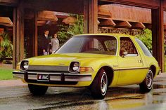 AMC Pacer. At once fascinating and repulsive. Sort of the like the whole decade.