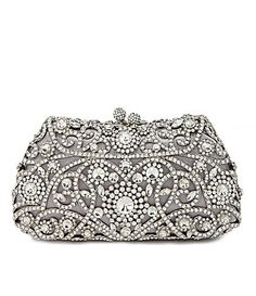Kate Landry Social Floral and Heart Minaudiere Clutch #Dillards