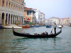 Take a gondola ride in Venice…