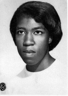 Octavia Butler's senior class photo from John Muir High School in Pasadena, California (1965)
