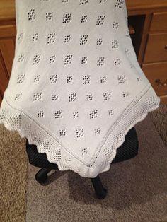 Free Pattern - Princess Charlotte's blanket!
