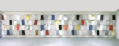Sculpture for a Large Wall, 1957, Ellsworth Kelly