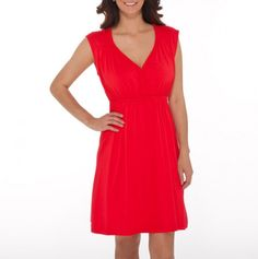Braided V-Neck Dress - Casually Cool Styles for Mom