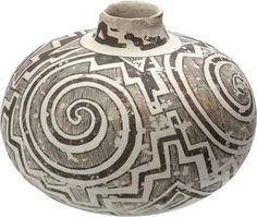 Tularosa Black-on-White Jar, c. 1250 A.D.