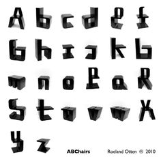 ABChairs by Roeland Otten.