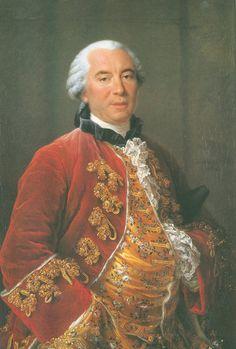 Georges Louis Le Clerc, Comte de Buffon (1707 - 1788). / By Drouais.
