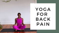20 Minute Yoga for Back Pain video. This relaxing, restorative yoga flow is for yogis of all experience levels. Home Exercise Routines, Yoga Routine, At Home Workouts, Exercise Workouts, Exercise To Reduce Stress, Yoga For Beginners, Beginner Yoga, Yoga For Back Pain, Back Pain Exercises