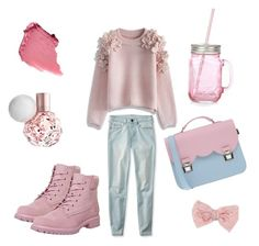 """"""""""" by gladyshevaa on Polyvore featuring мода, Chicwish, Aéropostale, Timberland, La Cartella и Decree"""