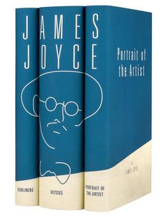 An absolutely essential classic (James Joyce's brilliant, experimental prose set the stage for all of Modernist literature), this collection brings the best. James Joyce Books, Buch Design, Design Design, Graphic Design, Book Design Inspiration, Modern Books, Book Spine, Best Book Covers, Cool Books