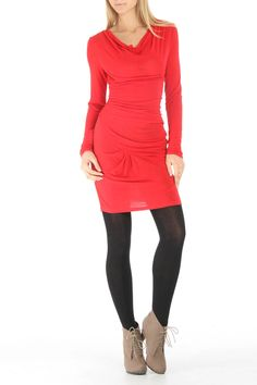Angela Mara Colleen Tunic In Red - Beyond the Rack