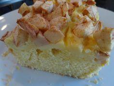 Appel custard cake