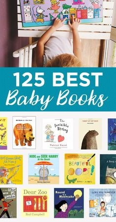 Great books for baby's birthday! Stories don't just teach babies about numbers, colors, and shapes. Stories teach baby how to relate to others and face life's obstacles in a way that is loving and brave. Best Baby Book, Dear Zoo, Baby List, Everything Baby, Baby Play, My Children, Children Health, Toddler Activities, Toddler Toys