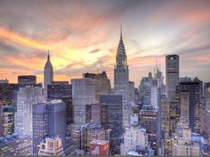 Midtown Skyline with Chrysler Building and Empire State Building, Manhattan, New York City, USA Photographic Print by Jon Arnold at AllPosters.com