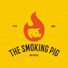 BBQ Restaurant Logo Maker a1171Foreground Image