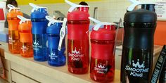 Have you picked out your perfect shaker yet? Smoothie King, Water Bottle, Good Things, Drinks, Twitter, Fun, Drinking, Beverages, Water Bottles