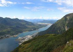Aerial View of Juneau, Capital City of Alaska Log Cabin Resort, Alaska Salmon Fishing, Alaska Highway, Ketchikan Alaska, Norwegian Cruise Line, Fishing Guide, Alaska Travel, Whale Watching, Best Vacations
