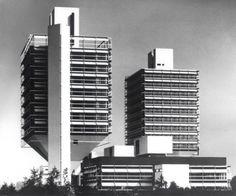 Olivetti Building, Frankfurt, Egon Eiermann,  (1968-1972)