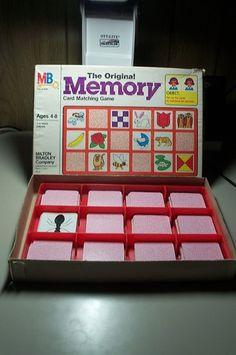 Vintage 1980 Milton Bradley Original Memory Game 4664   eBay