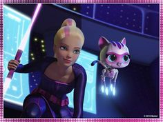Here's the first thing when I saw Barbie's glitz thing.......... ONLY STAR WARS FANS WILL GET IT