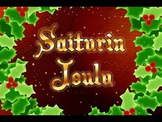 Saiturin joulu - YouTube Christmas Ornaments, Holiday Decor, Youtube, Home Decor, Decoration Home, Room Decor, Christmas Jewelry, Christmas Decorations, Home Interior Design