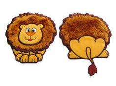 Leeuw front en back