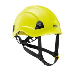 With its strong chinstrap, the VERTEX VENT helmet sets the standard in head protection for workers at height. It has ventilation holes with sliding shutters to allow the ventilation to be adjusted as needed. Its six-point textile suspension ensures Climbing Gloves, Ice Climbing, Hearing Protection, Hard Hats, Mountaineering, Bicycle Helmet, Pixar, Riding Helmets, Yellow