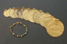 Finds from the Viking age from Gotland, Sweden.