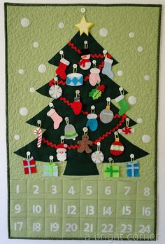 Super cute advent calendar! A Bright Corner: Advent Calendar