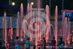 One of the best fountains in the world,Satellite city.