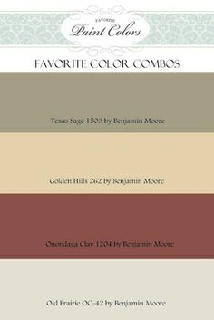 paint color combos