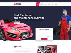 Tinker – Car Repair and eCommerce PSD Template is an awesome design idea for your online website. Easy and intuitive shopping experience. More Details: https://devitems.com/item/tinker-car-repair-ecommerce-psd/
