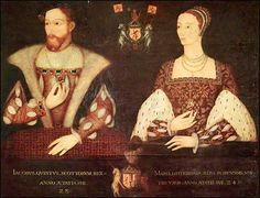 JAMES V., King of Scotland, son of James IV. and his Queen Margaret Tudor, was born at Linlithgow on the 10th of April 1512, and became king when his father was killed at Flodden in 1513, and Mary of Guise or Mary of Lorraine] (1515-1560), daughter of Claude, Duke of Guise, and widow of Louis of Orleans, Duke of Longueville. Parents of Mary, Queen of Scots.