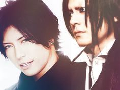 Gackt and Atsushi Sakurai, two of the most handsome men in Jrock. <3 <3 <3