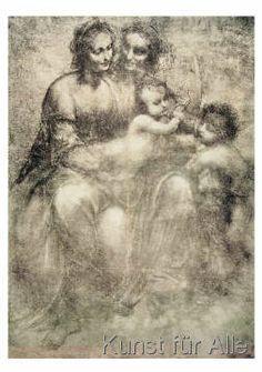Leonardo da Vinci - La vergine