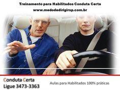 Homem também tem dificuldade para dirigir. Somos todos iguais  www.medodedirigirsp.com.br
