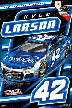 Kyle Larson Drag Racing Nascar Cars And Motorcycles