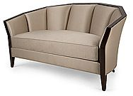 Shop the 2 Seater Sofa by Christopher Guy at Furnitureland South, the World's Largest Furniture Store and North Carolina's Premiere Furniture Showroom. Dream Furniture, Art Deco Furniture, Furniture Upholstery, Large Furniture, Quality Furniture, Modern Furniture, Chaise Sofa, Upholstered Sofa, Chaise Lounges