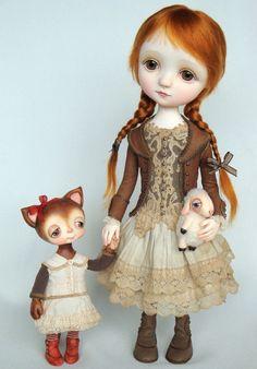 Paulinne - Original doll by Ana Salvador