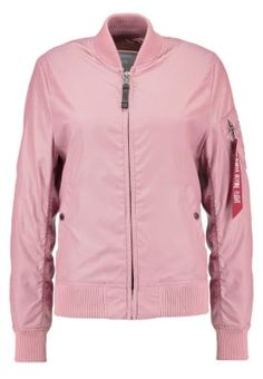 MA-1 - Bomberjacka - silver pink a5e0ed985a983