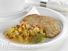 Bácskai sertésborda Street Food, Pork, Beef, Kale Stir Fry, Meat, Pork Chops, Steak