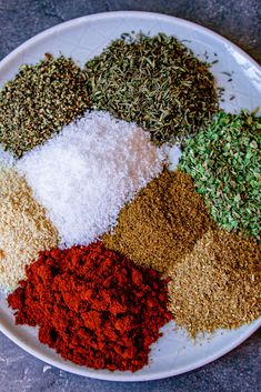 This Easy Mediterranean Herb and Spice Mix is really simple to make and extremely versatile. Use it as a rub for chicken, pork or fish or use as a general seasoning for soups and stews. Homemade Dry Mixes, Homemade Spice Blends, Homemade Spices, Homemade Seasonings, Spice Mixes, Spice Rub, Mediterranean Seasoning, Mediterranean Spices, Pork Seasoning