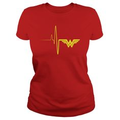 I Love heartbeat T-Shirts Wonder Woman Outfit, Wonder Woman Shirt, Superman Wonder Woman, Wonder Woman Quotes, Dc Comics, Wonder Woman Birthday, Hero Girl, Marvel, Geek Chic