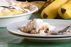 Recette tarte à la crème de banane et Nutella